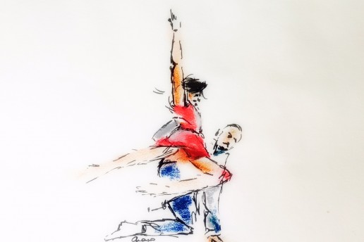 Anne Teresa de Keersmaeker Illustration