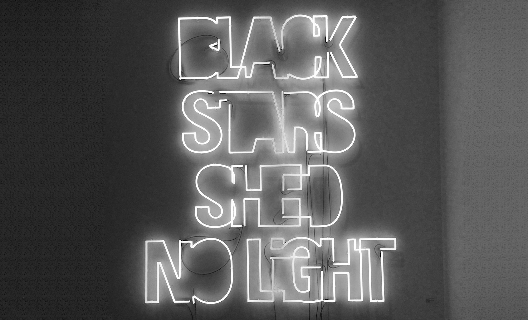 Yael Bartana, Black Stars shed no light, 2014 @ Galerie Raffaella Cortese FIAC 2016. Image © Araso