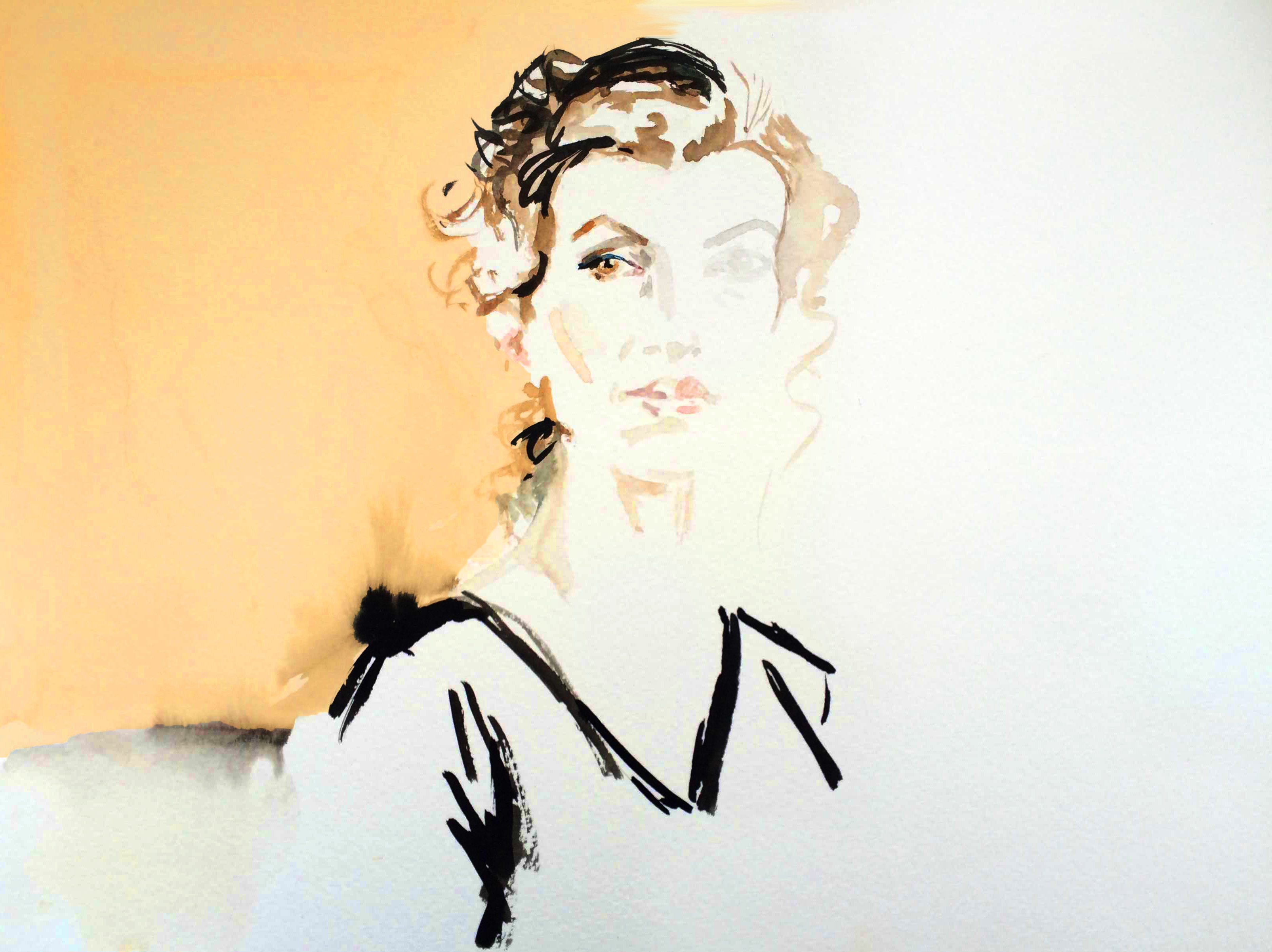 Audrey Azoulay, illustration © Araso