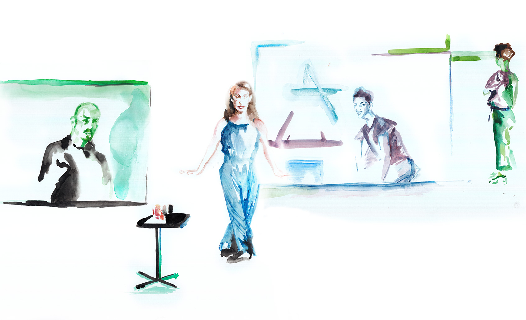 Carte Blanche to César Vayssié at the Ménagerie de Verre: Volmir Cordeiro, Julia Perazzini, Raphaëlle Delaunay and Dominique Gilliot by Araso