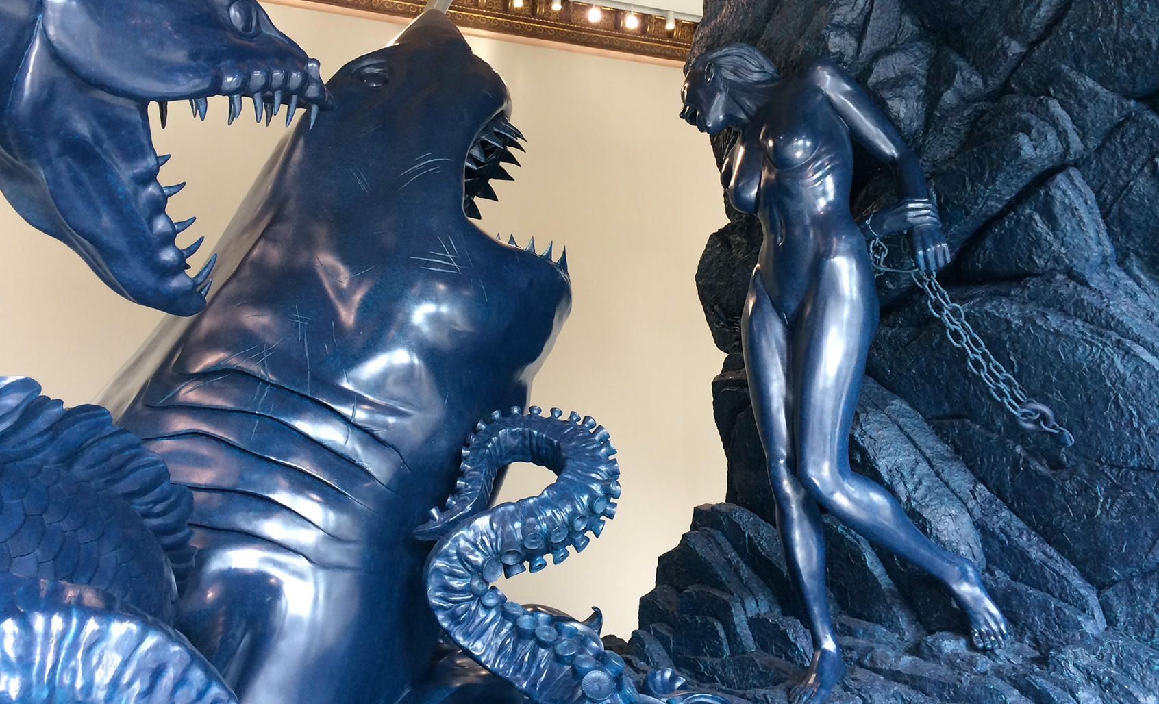 Damien Hirst, Andromeda and the Sea Monster, Palazzo Grassi, Venezia
